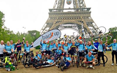 Mike cycles to Paris!