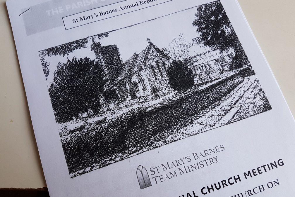 Annual Parochial Church Meeting (APCM)