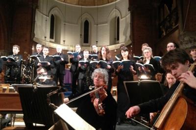Bach StJohn Passion Barnes Music Festival