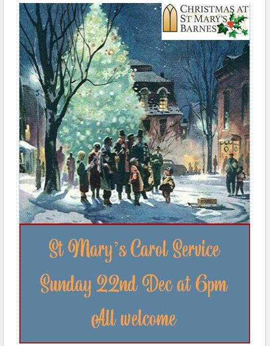 St Mary's Carol Service 2019