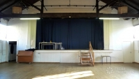 KH Large Hall Stage Curtains Closed