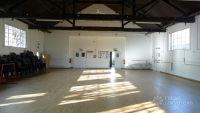 KH Large Hall towards noticeboard