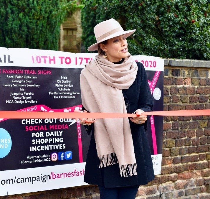 Barnes Charity Fashion Trail is open 10th – 17th October
