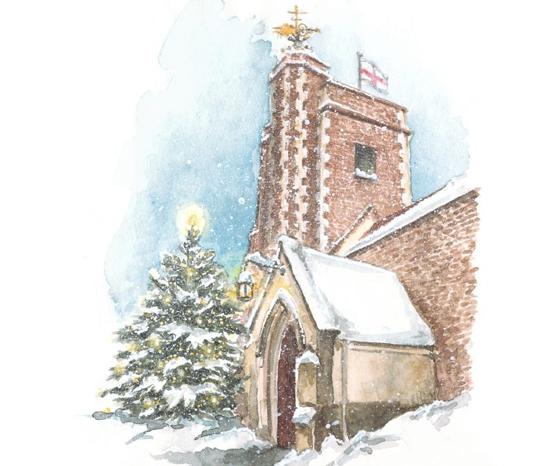 St Mary's Barnes Christmas Cards now online!