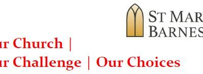 Our Church  Our Challenge Our Choices