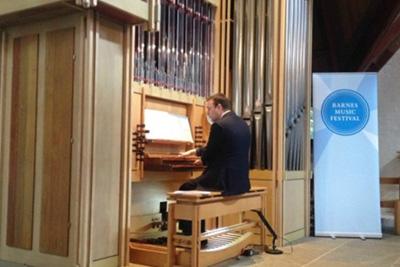 organ barnes music fest